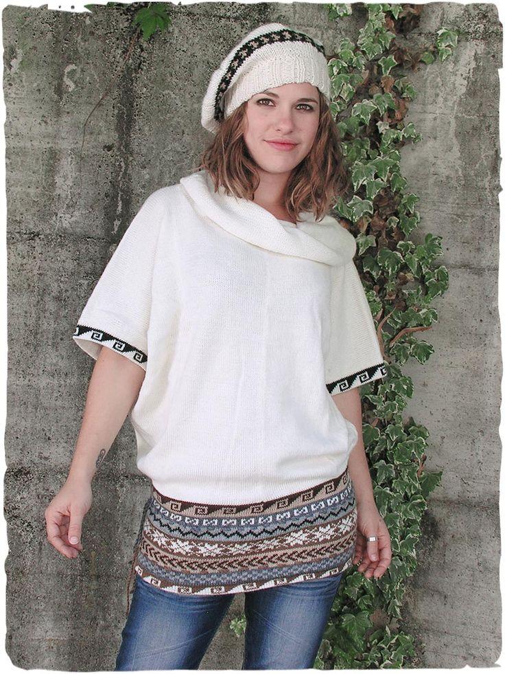 gilet Hippie. #Giletlana per donna con ampio collo ad anello - maniche corte stile kimono - See more at: http://www.lamamita.it/it-IT/shop/abbigliamento-invernale/gilet-hippie#sthash.L0AqyLxY.dpuf #modadonna #peruvianfashion #peru #lamamita #moda #fashion #italianfashion #style #italianstyle #modaitaliana #lamamitafashion #moda2015 #fashion2015 #winter #winterfashion
