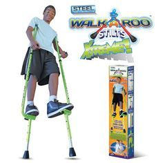 Walkaroo Steel Stilts Xtreme! A rad toy for ten year old boys. #HottestToys Best Christmas Toys for 10 Year Old Boys - The Perfect Gift Store
