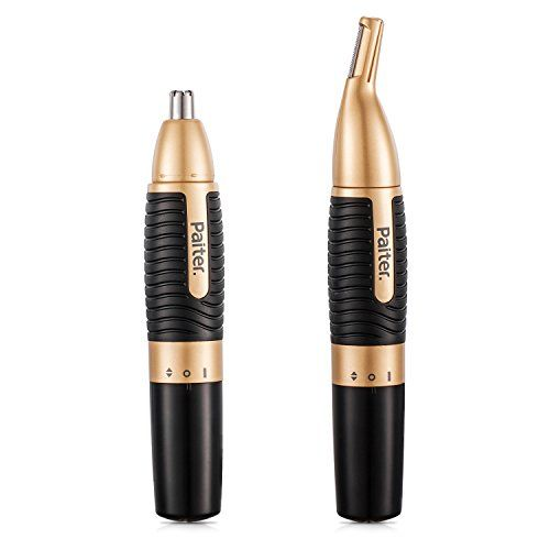 Nose Hair Trimmer Men's Nose Trimmer 2 in 1 Battery Operated Eyebrow Trimmer for Men AA Battery Included #Nose #Hair #Trimmer #Men's #Battery #Operated #Eyebrow #Included