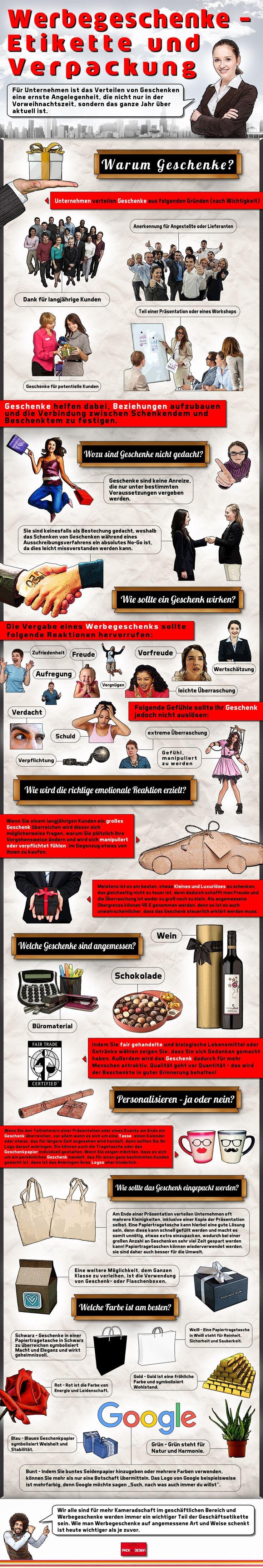 Bei Werbegeschenken gilt es vieles zu beachten. Als besonders gute Wahl hierfür gelten praktische Tragetaschen aus Papier, wie die von Pack and Design, dem Anbieter hochwertiger Geschenkverpackungen: http://www.packanddesign.com/6-papiertragetaschen