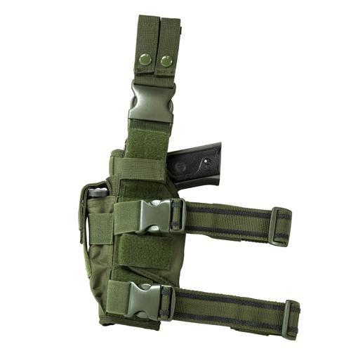Vism Drop Leg Tactical Holster - Green