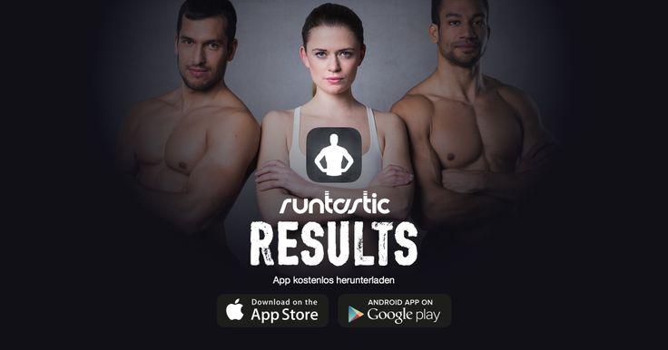 Abnehmen und fit werden? Dann hol dir die kostenlose #Runtastic #Results App! #RR