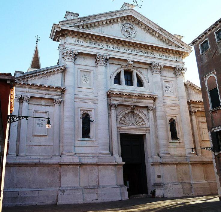 S francesco dl vigna - Category:Facade of San Francesco della Vigna (Venice) - Wikimedia Commons