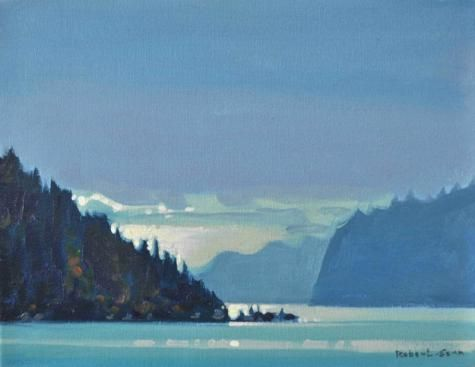 http://assiniboia.com/home.asp Robert  Genn Morning on the Octopus Islands