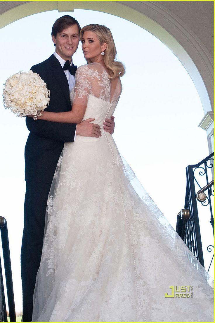 steal that style ivanka trump ivanka trump wedding dressmelania - Melania Trump Wedding Ring