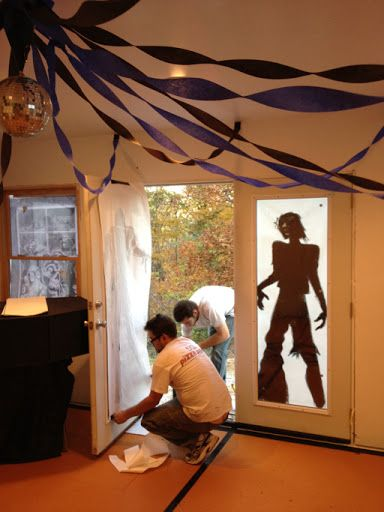 Yesterday we hosted a Zombie Prom themed Halloween party at our house. So today, while I start taking DOWN all the decorations, let me show...