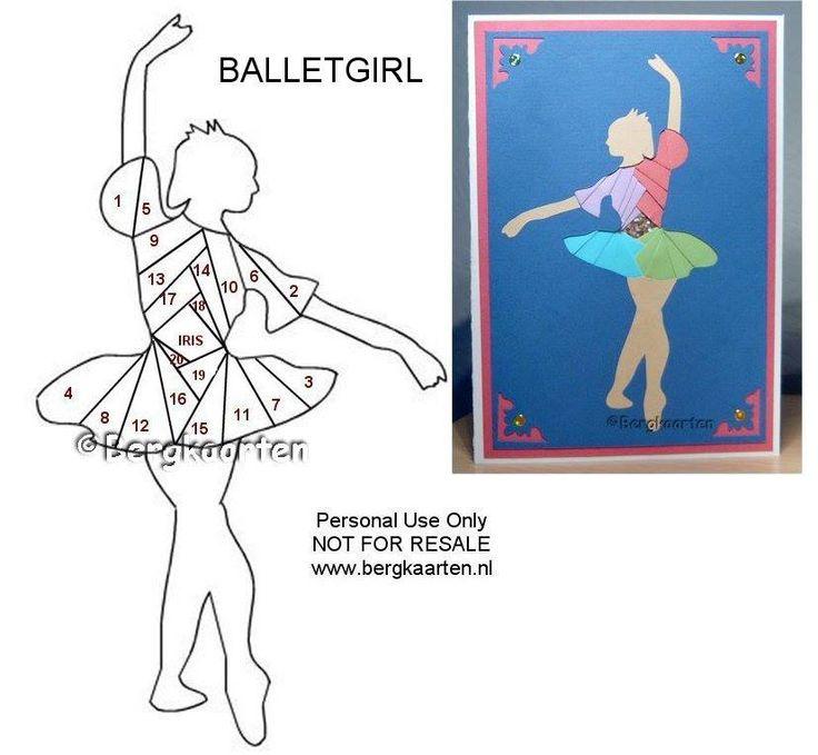 Irisvouwen: Ballet Girl