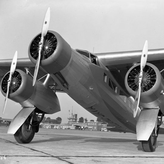 Before KLM's first passenger aircraft, it used First World War bombers that had been slightly modified to accommodate their human cargo.