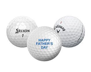 Free Golf Ball Personalization