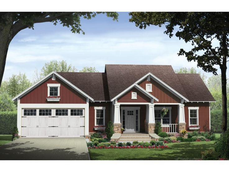 Eplans Craftsman House Plan Craftsman Country Cottage