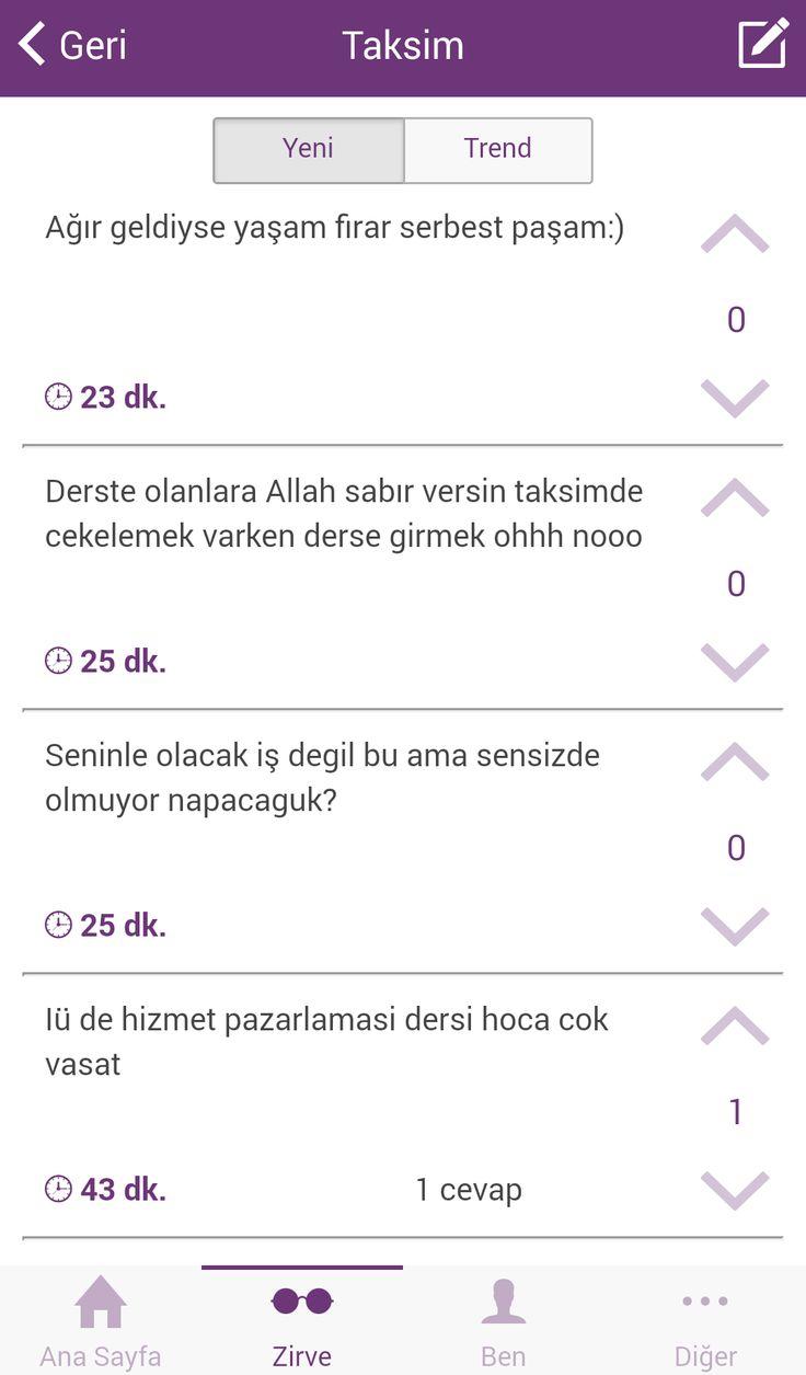 Taksim geyikliyor