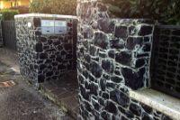 Spaccato per muri in pietra lavica
