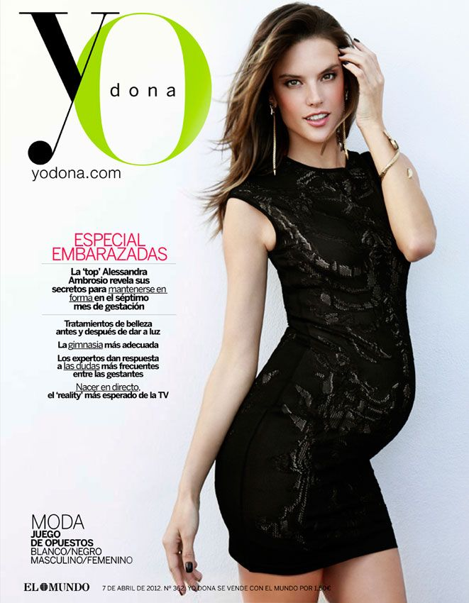Alessandra Ambrosio is full prego on the cover of Yo Dona. I'm going to make @LindsayReedy do this! ha: Pregnant Model, Magazine Covers, Maternity, Dona April, Alessandra Ambrosio, Baby Bump, Yodona, April 2012, Yo Woman