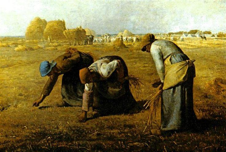 El espigadoras de 1857 - Jean-François Millet