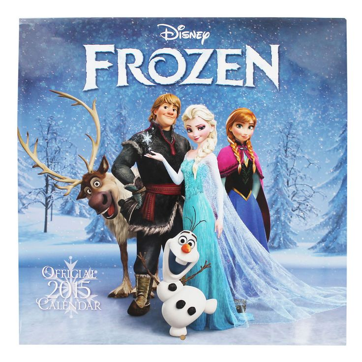 Disney Frozen 2015 Calendar | Cheap Stocking Fillers for Girls at The Works £5