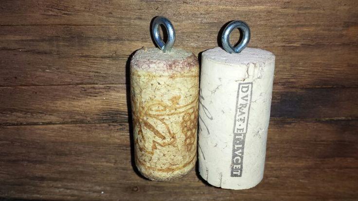 My own cork key holder...