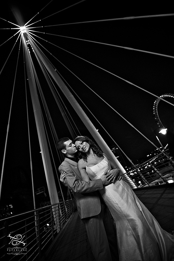 Trash the Dress wedding photographer London | Artistic London Wedding Photographer | Wedding photography by Peter Lane