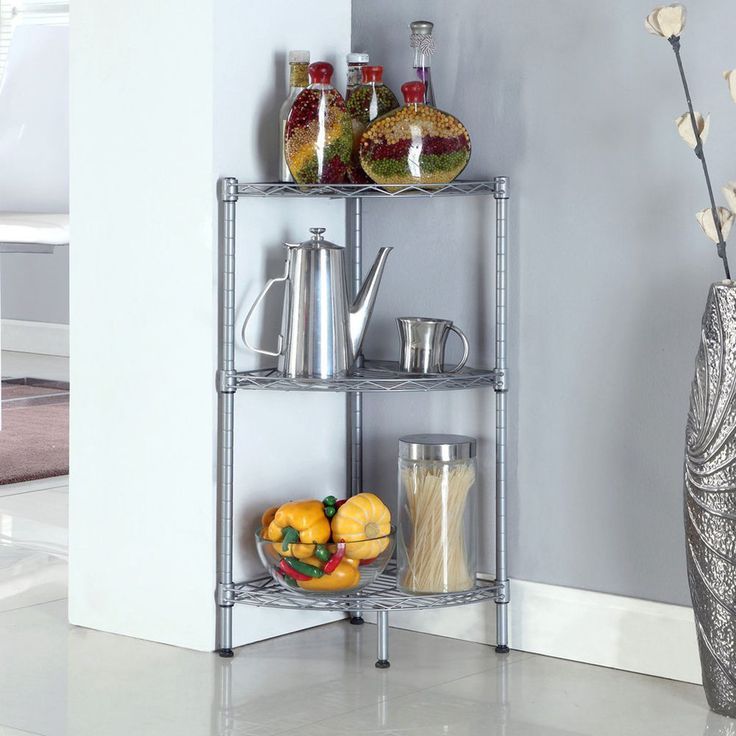 Top 25 Ideas About Corner Shelves Kitchen On Pinterest