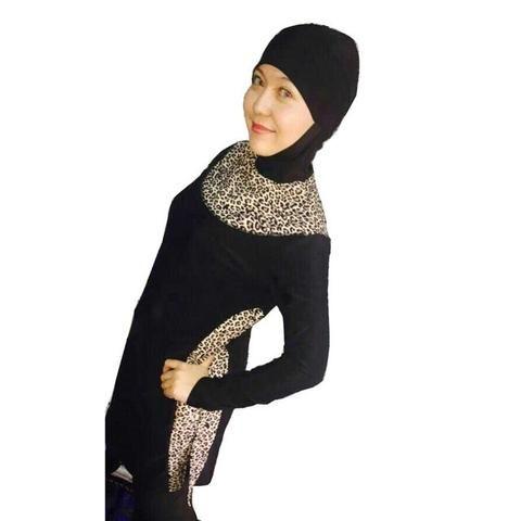 YONGSE Fully Covered Muslim Swimwear Women's Modest Swimsuit Islamic W – Hard Core Sports