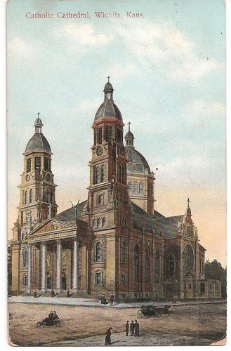 wichita catholic kansas cathedral churches 1900s early