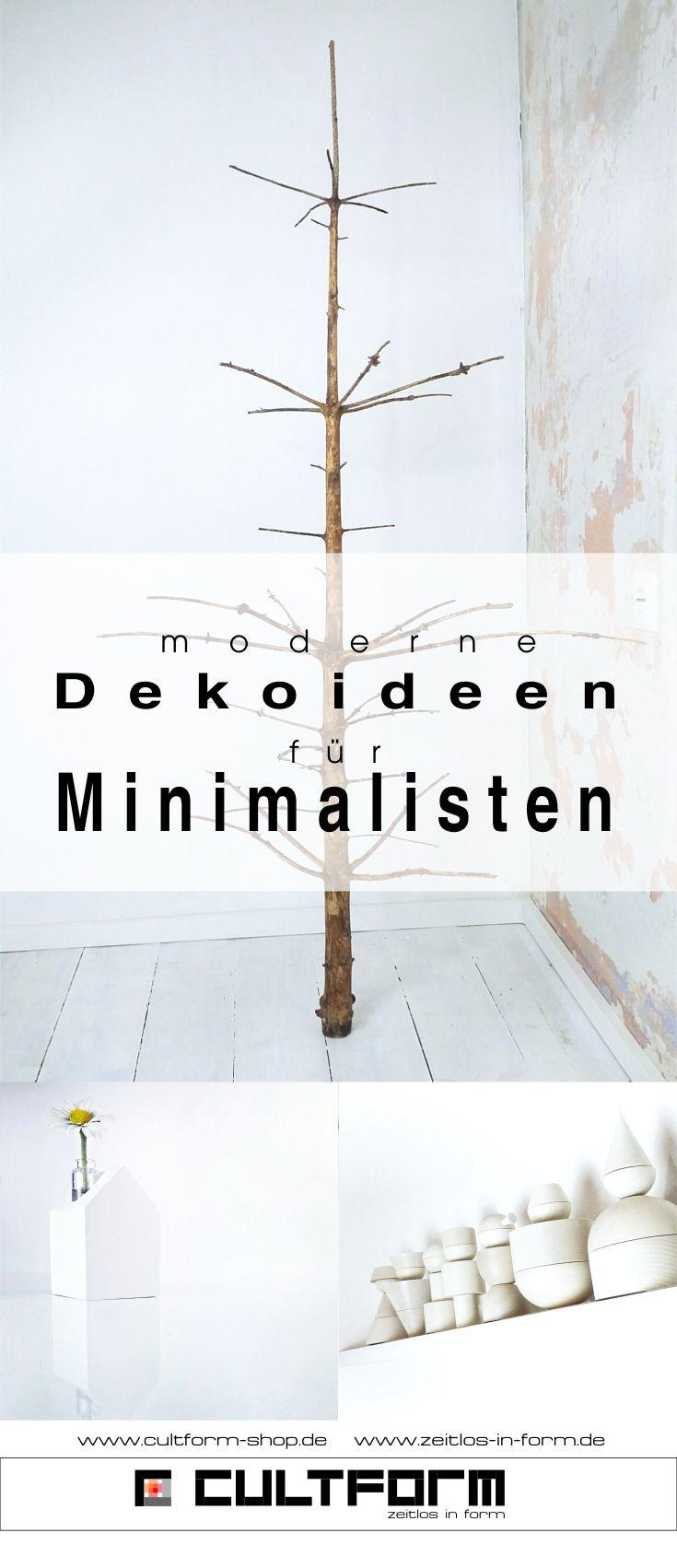 moderne Dekoideen für Minimalisten auf dem Blog und im Shop. #cultform #design #interior #minimalismus #minimalisten +deko #dekoideen #nadelfreier #Weihnachtsbaum