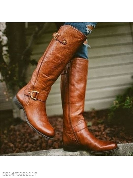 Details about  /Elegant Women Round Toe High Heel Mid-Calf Knee High Boots Shoes Casual Party D