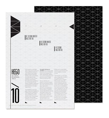 the grid. an actual technicality that designers use for layouts that most magazines don't usually show