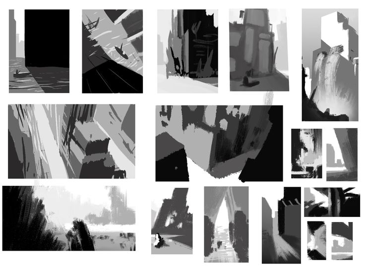 Best Storyboard  Value Sketches Images On