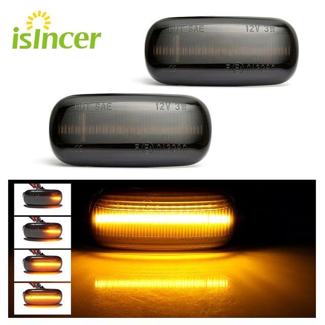 Led Blinker Side Marker Lights Amber Smoke Signal Light Led Indicator Lamp For Audi A3 S3 8p A4 S4 Rs4 B6 B7 B8 A6 S6 Rs6 C5 C7 Re Led Lights