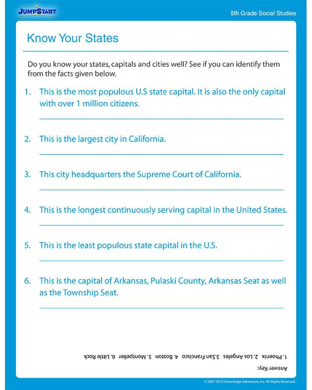 Free Printables For 4th Grade Social Studies Additional