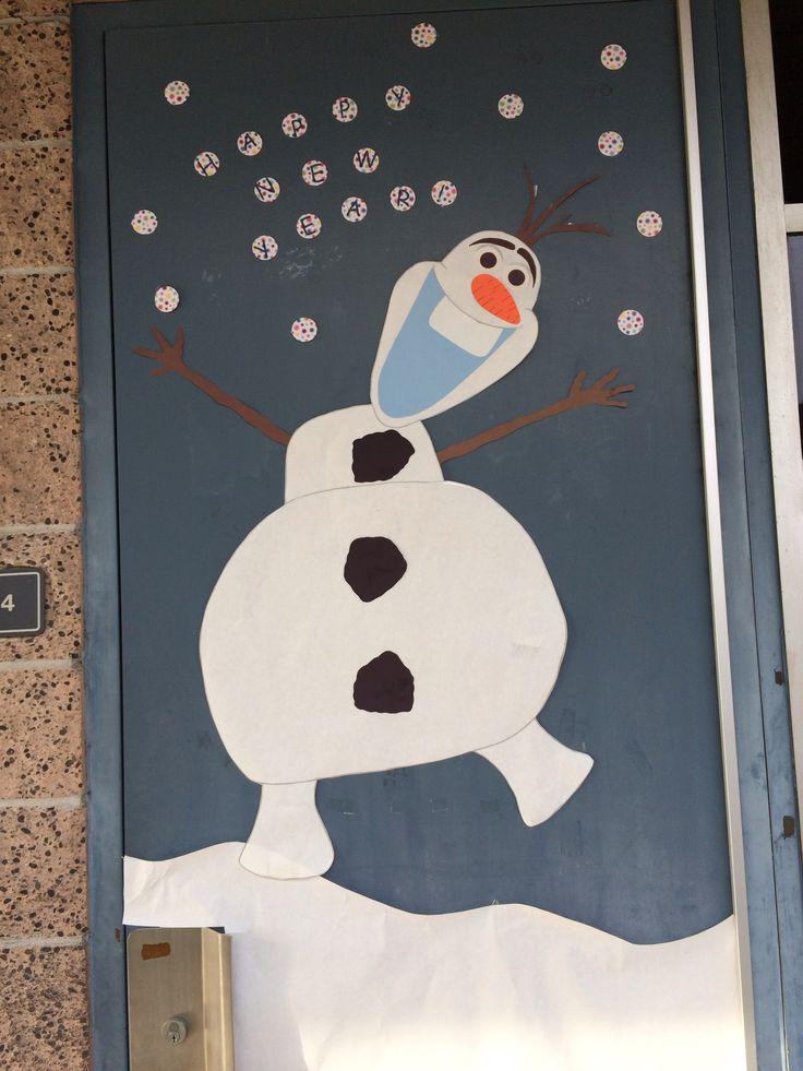 Olaf Frozen - door