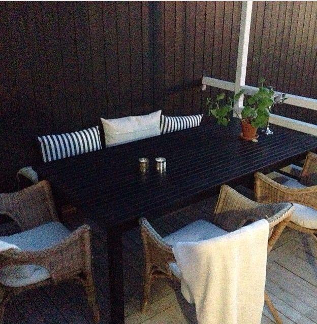 IKEA, Ängsö, uteplats, altan, matplats, korgstol