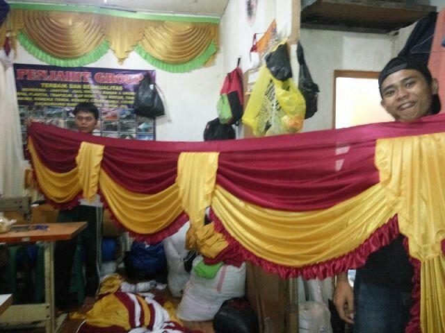 Menjual/penjual rumbai tenda murah Indonesia,menerima pesanan rumbai tenda,partai besar ataupun sebaliknya.