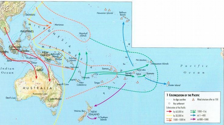 aboriginal australians migration map ile ilgili görsel sonucu