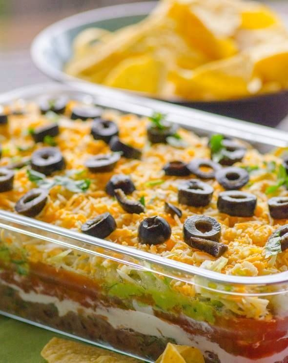 Recipe Yummy |   Seven Layer Taco Dip