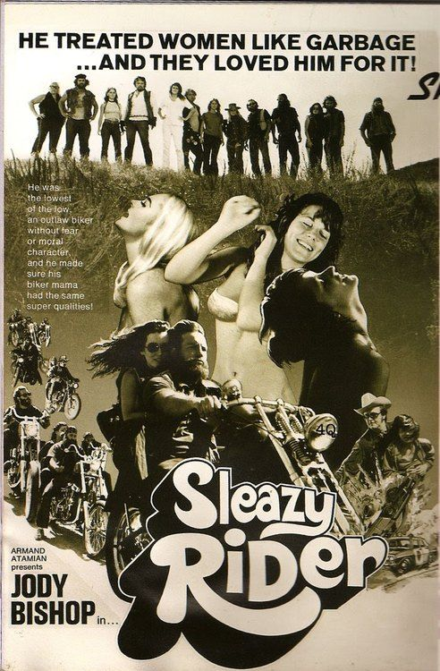 Sleazy Rider (1973)   Juvenile Delinquent, Exploitation ...