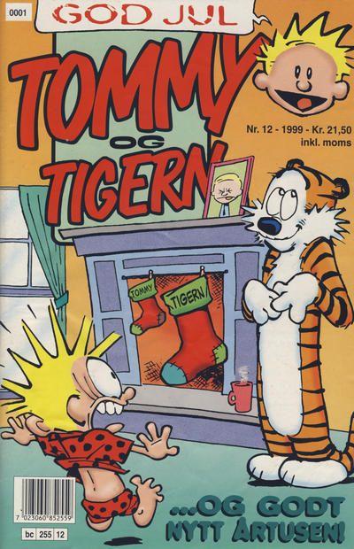 Cover for Tommy og Tigern (Bladkompaniet, 1989 series) #12/1999