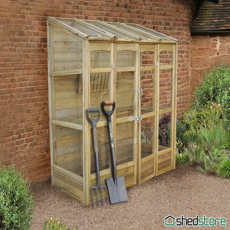 Build lean to greenhouse plans for Small wooden greenhouse plans