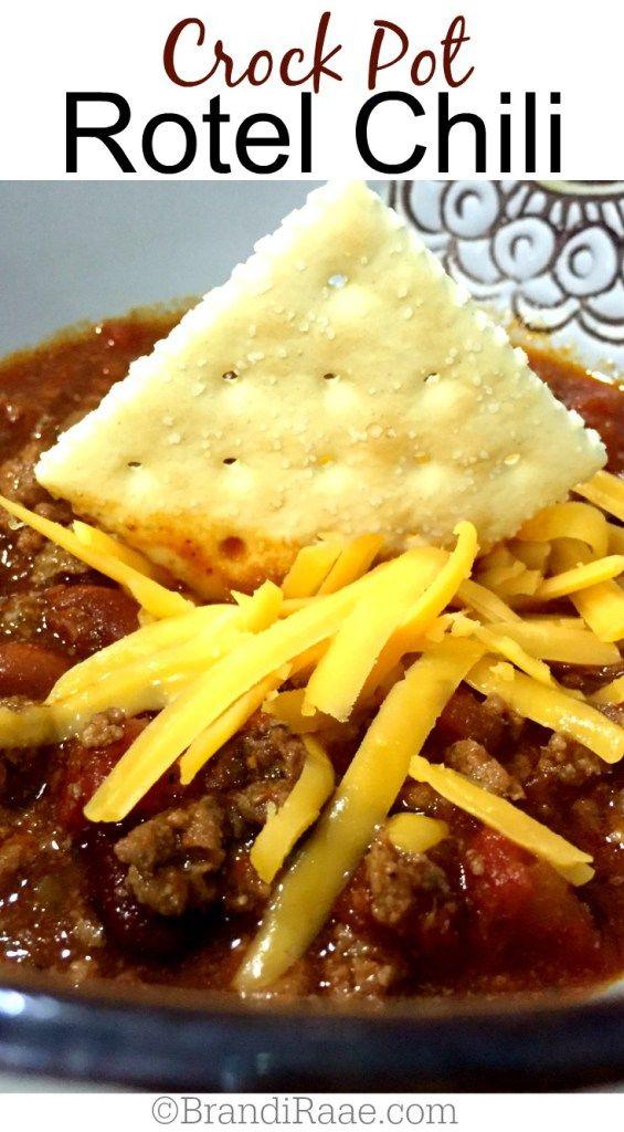 Crock Pot Rotel Chili