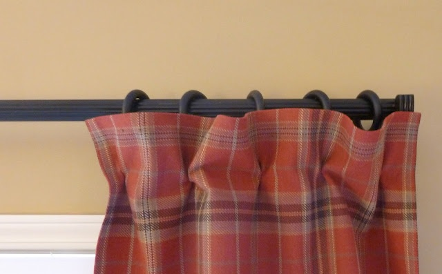 Pinch And Clip Method For Ring Clips On Curtains Sewing