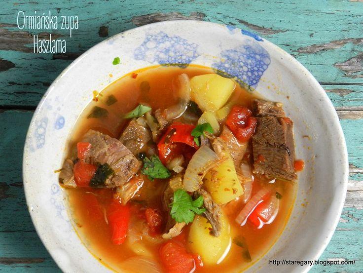 Stare Gary: Ormiańska zupa Haszlama