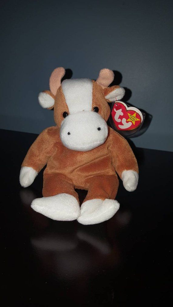 Rare retired Ty original Bessie beanie baby with errors  86777d1bea6