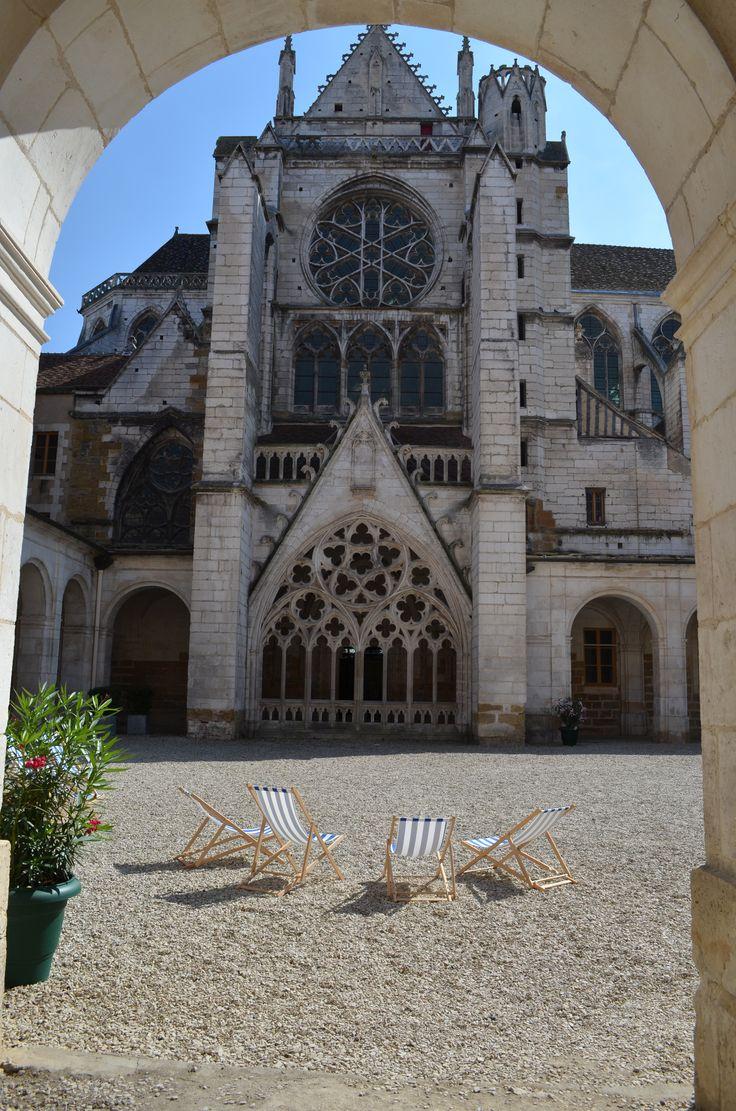 L'Abbaye Saint-Germain à Auxerre.