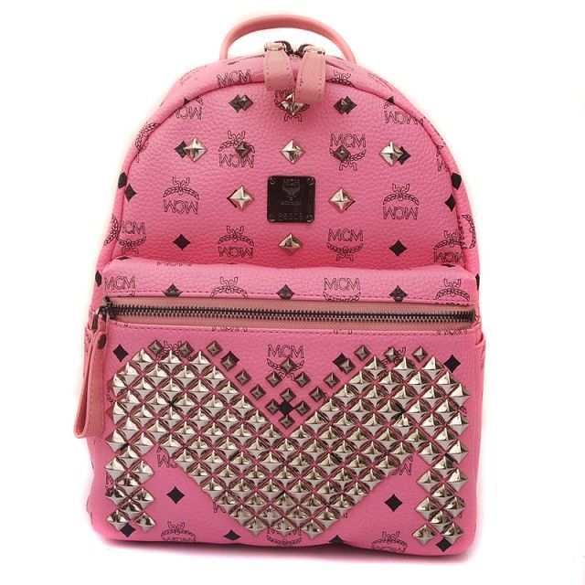 ONLY COST $148----2014 NEW Sytle Designer MCM Studded Backpack