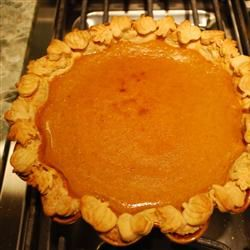 I loved the texture of this pie.  Chef John's Pumpkin Pie recipe.