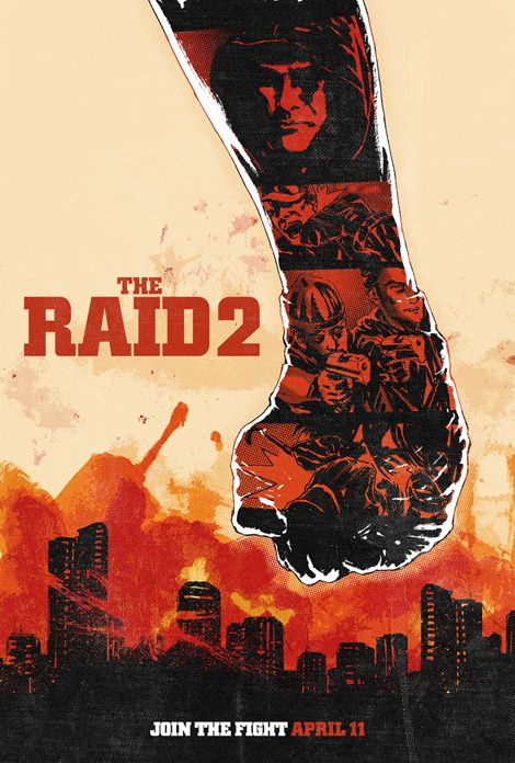 The Raid 2 Poster Competition Winners | GamesRadar