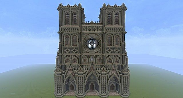 Gothic Cathedral World Download Minecraft Project Minecraft Medieval Minecraft Construction Minecraft Blueprints