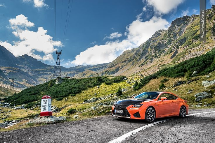 Lexus RC-F Carbon on Transfogarska road. #lexus #transfogarska  Clikc for more pics.