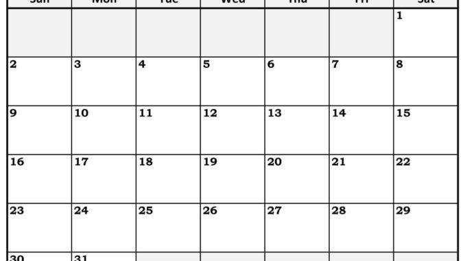 December 2018 Printable Calendar Template December 2018 Printable