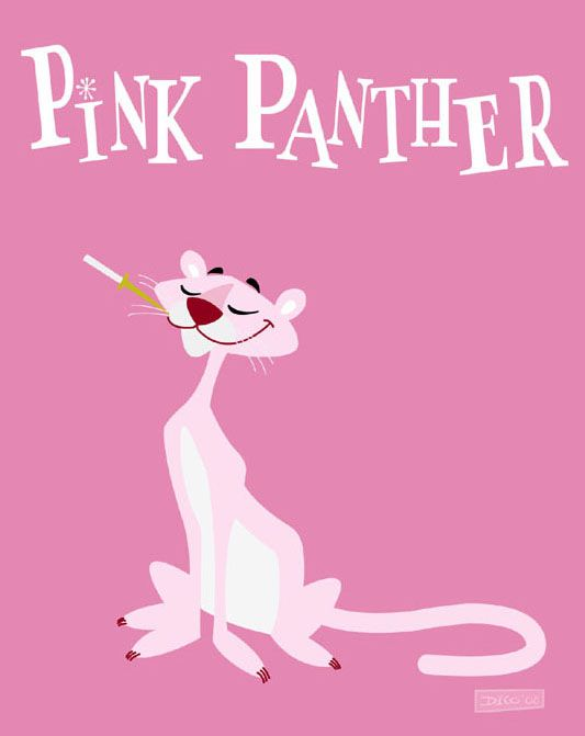 PINK PANTHER by elgranDico.deviantart.com on @DeviantArt